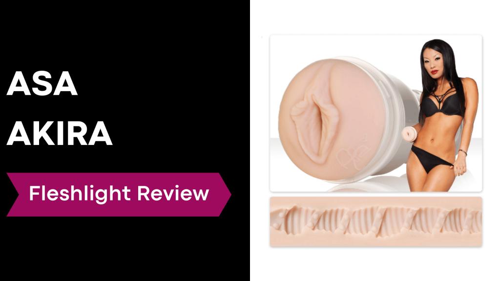 review banner with Asa Akira holding fleshlight