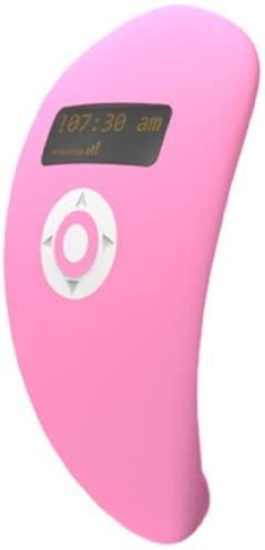 Wake Up Vibe vibrator alarm clock in pink